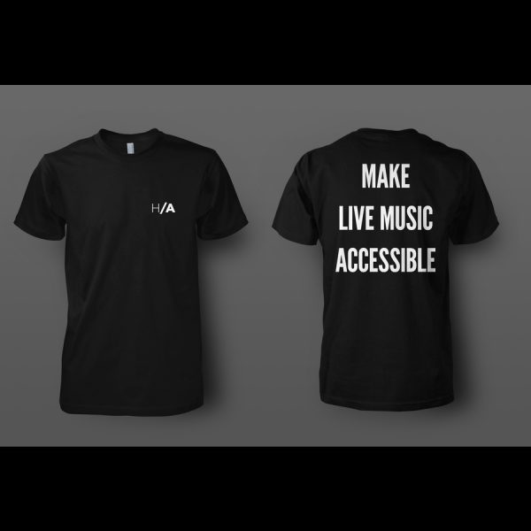 Front and back of shirt mockup